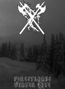 Raggradarh - forestlands - winter gate