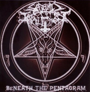 satanic impalement-beneath the pentagram