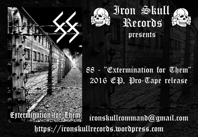 "88 – ""Extermination for Them"" Cassette Tape out now! — ACCLAIM ..."