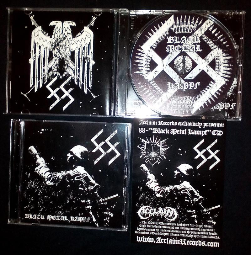 88 Black Metal Kampf Full Length Cd Out Now Acclaim